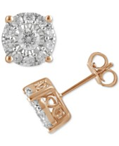 a261fae05 rose gold stud earrings - Shop for and Buy rose gold stud earrings ...