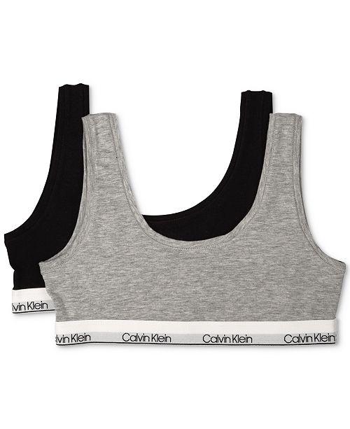 e9c522108f38a ... Calvin Klein 2-Pack Bralettes