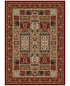 Pesaro Panel Red Area Rug Collection