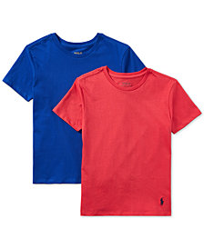 Polo Ralph Lauren 2-Pk. Cotton T-Shirts, Little & Big Boys