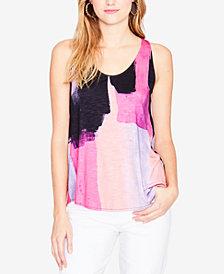 RACHEL Rachel Roy Printed Tie-Back Top, Created for Macy's