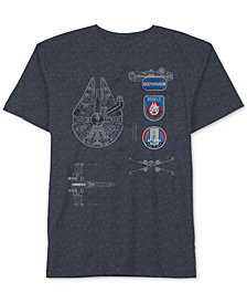 Star Wars Graphic-Print T-Shirt, Big Boys