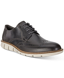 Ecco Men's Jeremy Wingtip Hybrid Oxfords