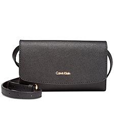 Calvin Klein Logan Leather Crossbody