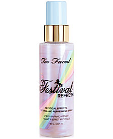Too Faced Festival Refresh Mystical Effects Setting & Refreshing Spray