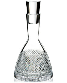 Waterford Diamond Line Decanter With Stopper