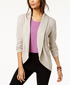 Style & Co Shawl-Collar Cardigan, Created for Macy's