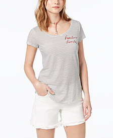 Lucky Brand Fearless Female Graphic-Print T-Shirt, Created for Macy's