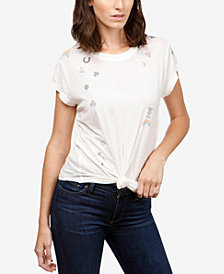 Lucky Brand Short-Sleeve Good-Luck-Graphic T-Shirt