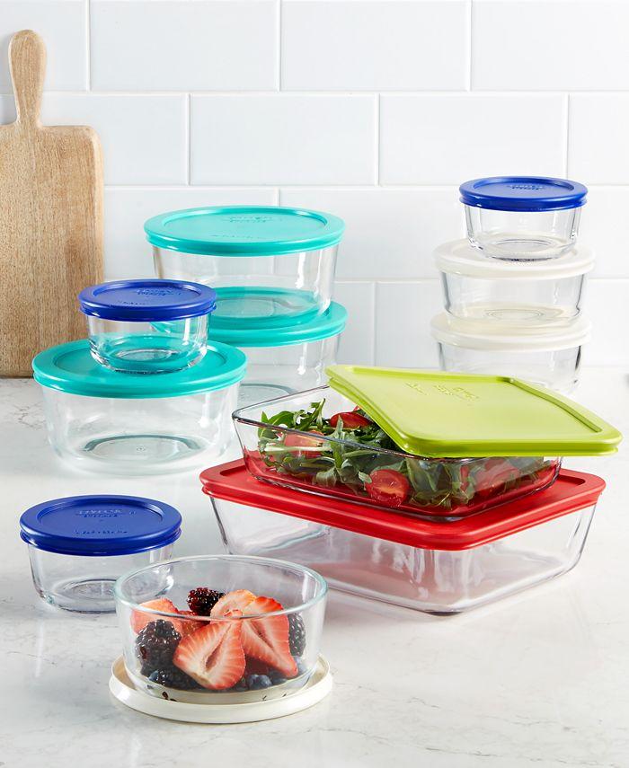 Pyrex - 22-Pc. Food Storage Set