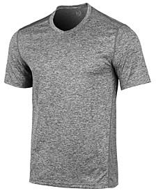 Men's V-Neck Mesh-Back Performance T-Shirt, Created for Macy's