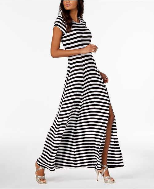 Michael Kors Striped Maxi Dress 6 Reviews Main Image