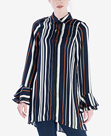 Verona Collection Striped Tunic Shirt