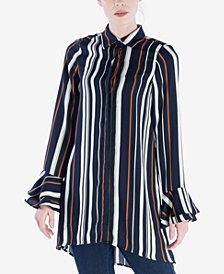 Verona Collection Striped Tunic Shirt