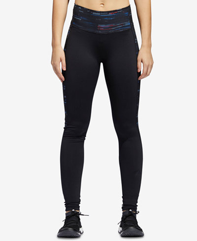 adidas ClimaLite® Compression High-Waist Leggings