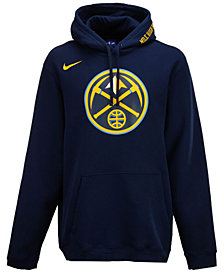 Nike Men's Denver Nuggets City Club Fleece Hoodie
