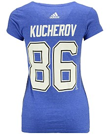 adidas Women's Nikita Kucherov Tampa Bay Lightning Player T-Shirt