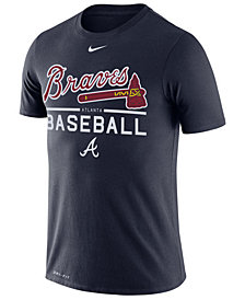 Nike Men's Atlanta Braves Dry Practice T-Shirt