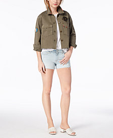 Joe's Marie Cropped Cotton Military Jacket