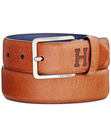 Tommy Hilfiger Men's Logo Dress Belt
