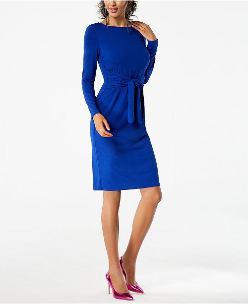 Inc International Concepts Inc Petite Tie Waist Dress Created