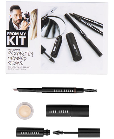 Bobbi Brown 4-Pc. 90 Second Perfectly Defined Brows Set