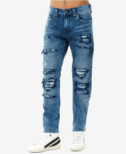 True Religion Mens Rocco NoFlap Rip Repair Skinny Fit Stretch - Best free invoice software for mac rocco online store