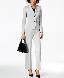 Le Suit Textured Pantsuit