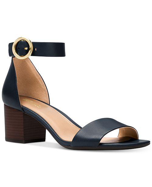 ef55aa5c0b01 Michael Kors Lena Block Heel Dress Sandals   Reviews - Sandals ...