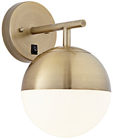 Pacific Coast Golden Globe Wall Sconce, Created for Macy's