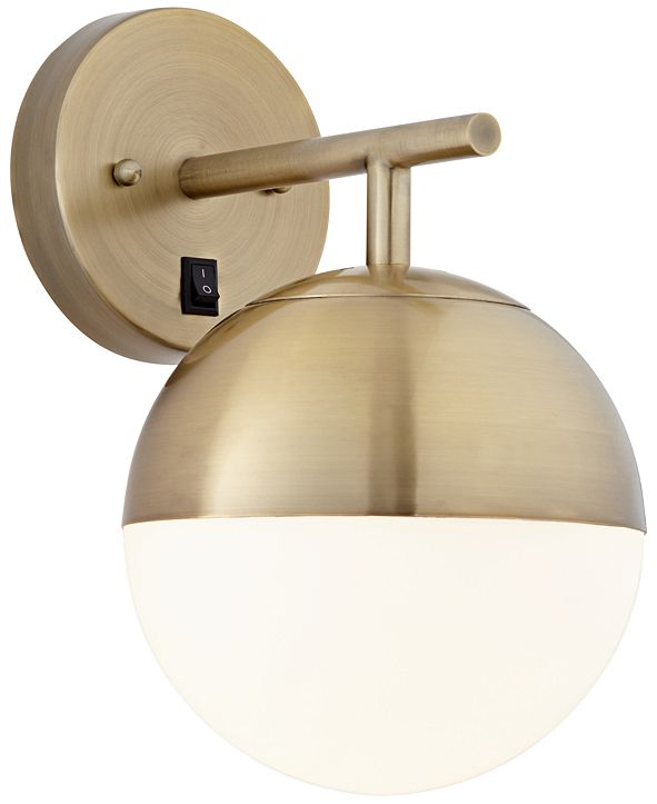 Kathy Ireland Pacific Coast Golden Globe Wall Sconce, Created for Macy's