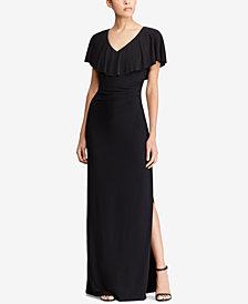 Lauren Ralph Lauren Ruffled Gown