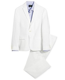 Lauren Ralph Lauren Linen Jacket, Linen Pants & Striped Shirt Separates, Big Boys