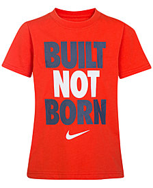 Nike Graphic-Print Cotton T-Shirt, Little Boys