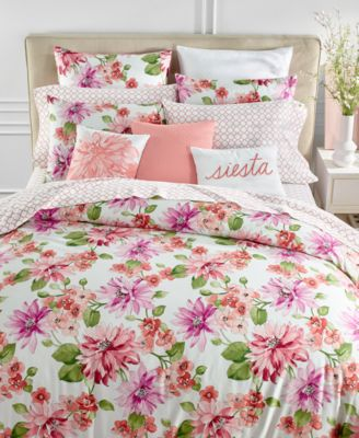 Bouquet 3-Pc. King Duvet Cover Set, Created for Macy's