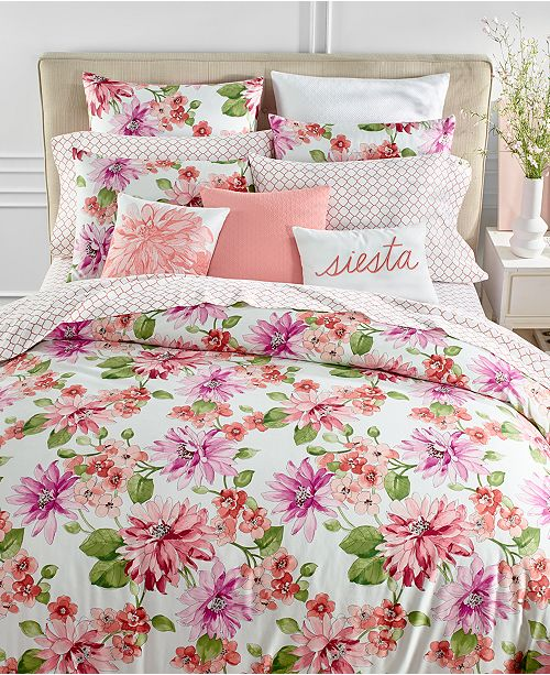 Charter Club Bouquet Bedding Collection, Created for Macy's