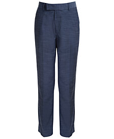 Calvin Klein Plain Weave Pants, Big Boys