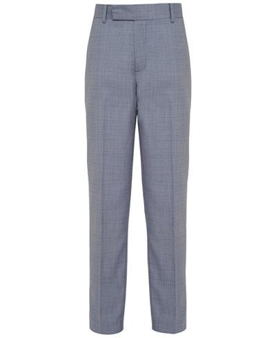 Calvin Klein Striated Sharkskin Pants, Big Boys