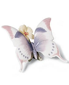 Lladro Collectible Figurine, A Moment's Rest Butterfly
