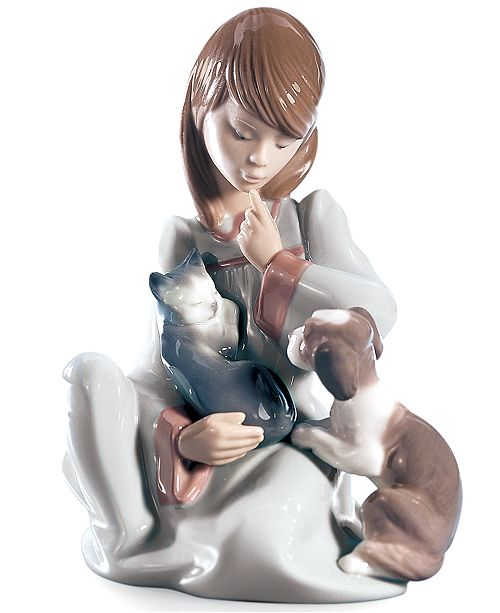 Lladro Lladro Collectible Figurine, Cat Nap