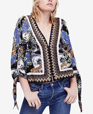 Catch Me If You Can Blouse by Free People