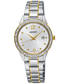 Seiko Women's Special Value Two-Tone Stainless Steel Bracelet Watch 28mm