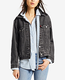 Levi's® Ex-Boyfriend Cotton Denim Trucker Jacket