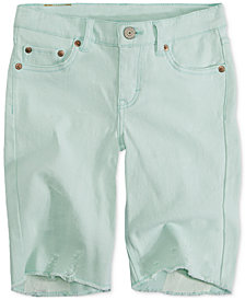 Levi's® Seaside Bermuda Shorts, Big Girls
