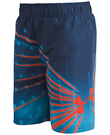 Under Armour Graphic-Print Bathing Suit, Big Boys