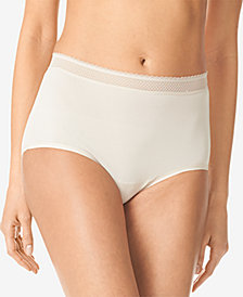 Warner's Breathable Embroidered-Trim Brief RS4901P