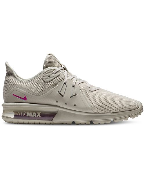 big sale 10ac2 16ec4 ... Nike Women s Air Max Sequent 3 LE Running Sneakers from Finish ...