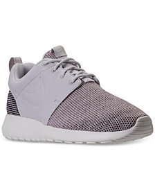 Nike Women's Roshe One Knit Casual Sneakers from Finish Line