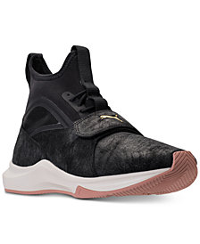 Puma Women's Phenom Shimmer Casual Sneakers from Finish Line
