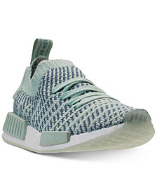 adidas Women's NMD R1 STLT Primeknit Casual Sneakers from Finish Line